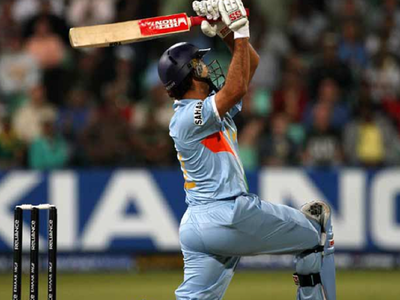 Yuvraj Singh recalls hitting 6 sixes off Stuart Broad in 2007 T20 World Cup
