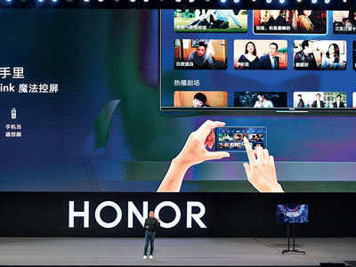 Huawei debuts own operating system