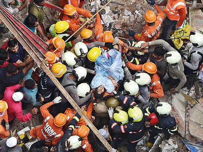 Dongri bldg collapse: Mom dies, but not before saving son