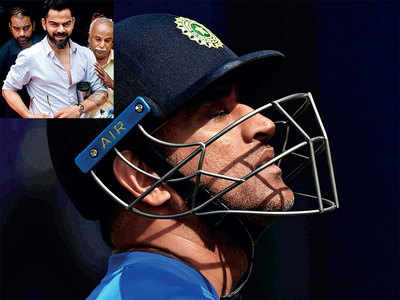 MS Dhoni won't go, MSK Prasad won't ask