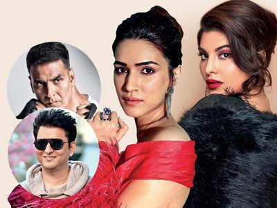 Jacqueline Fernandez joins Akshay Kumar and Kriti Sanon in Sajid Nadiadwala's gangster drama Bachchan Pandey