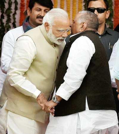 So what did MSY whisper to Modi?