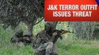 Non-residents of J&K will be 'considered as RSS agents': J&K terror outfit's open threat