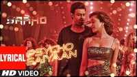 Saaho | Song  -Psycho Saiyaan (Lyrical)