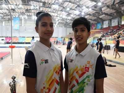 Despite losing gold, Hattekar twins win hearts