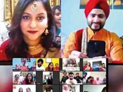 Virtual Wedding: Mumbai boy, Delhi girl tie the knot via video calling