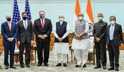 India-US 2+2 talks live updates: Happy to see tremendous progress in India-US relations, says PM Modi