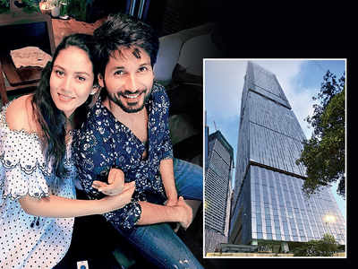 Time to move for Shahid and Mira Kapoor?
