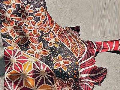 PLAN AHEAD: Batik on leather