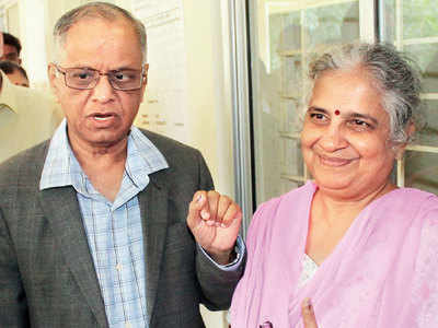IT giant Narayana Murthy and his wife Sudha to collaborate on a book