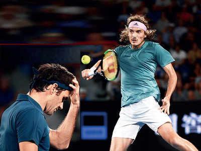Stefanos Tsitsipas knocks out Roger Federer