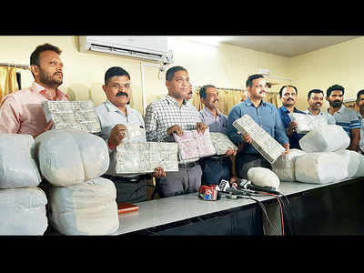 Police bust drug factory; seize 129 kg of meow meow