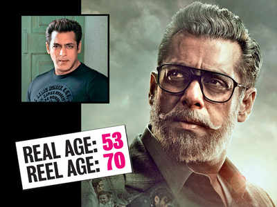 When old is gold: Salman Khan, Taapsee Pannu, Bhumi Pednekar, Sushant Singh Rajput, Shraddha Kapoor and Vivek Oberoi turn old in their upcoming films