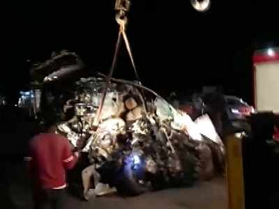 9 students killed in car-truck collision on Pune-Solapur highway