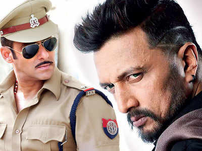 Kannada actor Sudeep to play a villain in Salman Khan's Dabangg 3