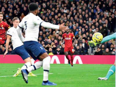 Premier League: Liverpool beat Tottenham Hotspur 1-0