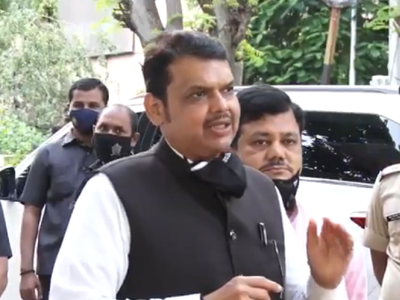 Devendra Fadnavis demands religious places in Maharashtra should be reopened