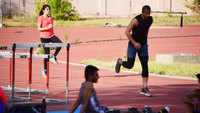 Jaipur: Athletes begin training at SMS stadium after 2-month Covid-19 break