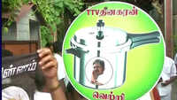TTV Dhinakaran gets 'cooker' as election symbol?