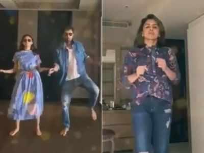 Ranbir Kapoor, Alia Bhatt groove on 'Aap Jaisa Koi' for Riddhima Kapoor Sahni on her birthday