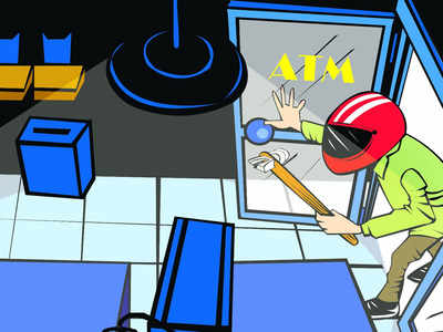 Robber targets two ATMs in Navi Mumbai