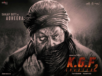 Sanjay Dutt confirms he is part of KGF: Chapter 2, shares first look on his birthday