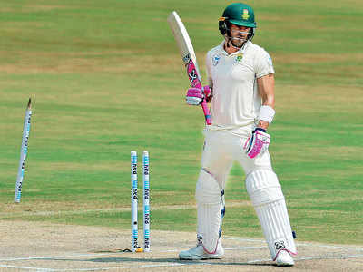 Proud the way we batted, SA captain Faf du Plessis after losing the first Test