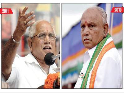 With no clarity on portfolios, the pulls and pressures have left CM BS Yediyurappa stretched and stressed