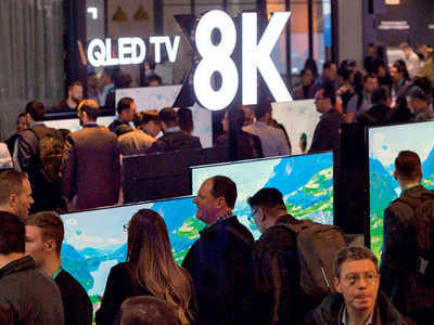 TV makers woo internet generation with 8K tech