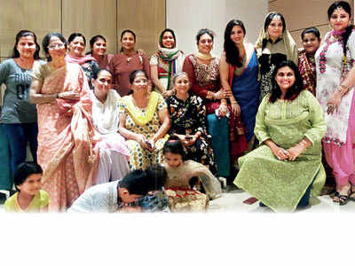Women at Malad housing society insist on unity in diversity
