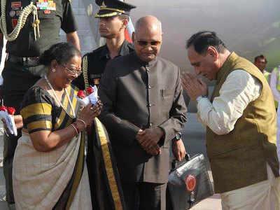 Ramnath Kovind on two-day visit to Gujarat