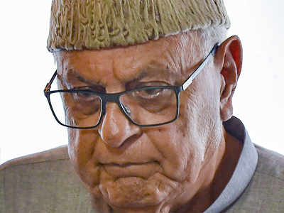 Farooq Abdullah detained under PSA