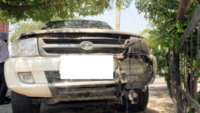 Delhi: Suspected bootlegger dies after SUV crashes into pond