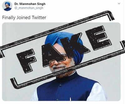 Fake alert: Fake account of Manmohan Singh surfaces on Twitter