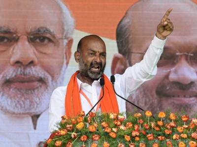 K Chandrasekhar Rao government will collapse after GHMC polls, mid-term imminent: BJP Telangana chief Bandi Sanjay