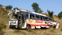 Pune: MSRTC bus carrying 30 falls down valley, two reported dead