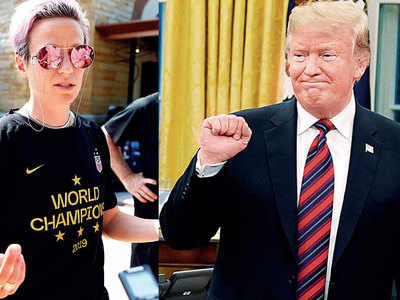 Your message is excluding people: Rapinoe to Trump