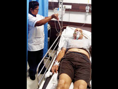 Drugged, locked in a room by his wife, retd colonel rescued from his Viman Nagar home