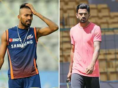 Hardik Pandya, KL Rahul suspended; will not be considered for 1st ODI against Australia