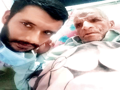 Mumbai watchman travels 2,100 km to Chandigarh in five days to meet his father who had a stroke