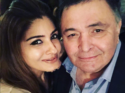 Raveena Tandon remembers Rishi Kapoor, says she misses him everyday