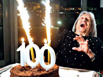 Oldest living Olympic champion turns 100