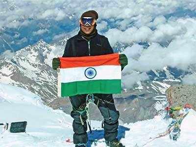 Gujarati businessman conquers Mt Everest