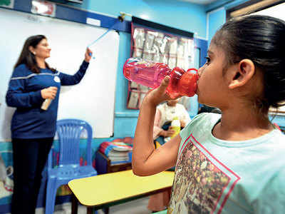 State govt formalises 'ring the bell' water reminder at schools
