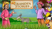 Children English Nursery Rhyme 'Grandpa Stories | The Farmer And His Donkey' - Kids Nursery Rhymes In English