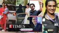 B-Town celebs congratulate PV Sindhu on historic win at BWF World Championships; Taimur visits grandmother with mom Kareena and aunt Karisma, and more...