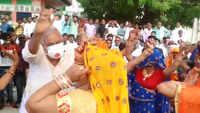 Rajasthan: BJP MP Kirodi Lal Meena shakes a leg at ceremony, flouts social distancing norms
