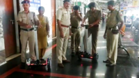 Visakhapatnam: RPF cops receive two hoverboards to aid in platform patrolling
