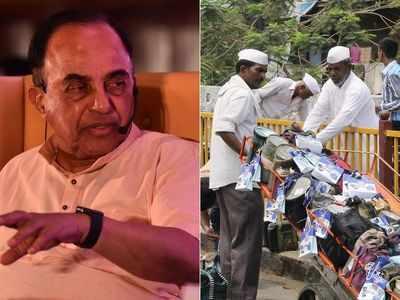 Save Mumbai Dabbawalas from starvation: Subramanian Swamy urges Maharashtra government