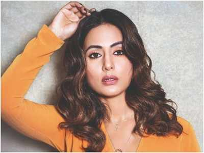 Hina Khan: Forget film roles, television actors aren't even considered when it comes to donning a big designer's outfit